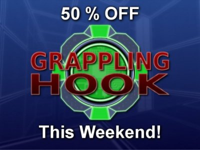 Grappling Hook - 50 % Off This Weekend!